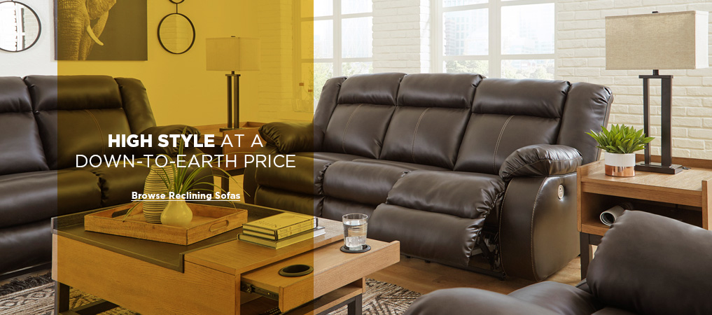 Browse Reclining Sofas