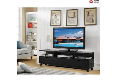 "Image for TV Stand for up to 80"" TV, Black"