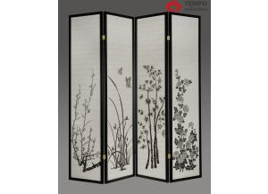Image for 4 Panel Room Divider, Printed