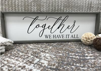 Image for Together We Have It All