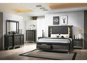 Image for Manhattan Queen Bed, Dresser, Mirror and Nightstand