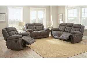Image for Gray Reclining Sofa and Loveseat