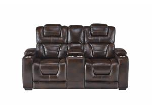 Image for MANHATTAN RECLINING LOVESEAT (PWR TGL)