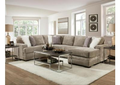 Image for REVERSABLE GLAM SECTIONAL
