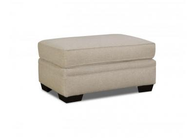 Image for LINEN OTTOMAN