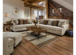 Image for LINEN SOFA AND LOVESEAT