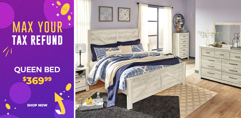 Max Your Tax Refund Sale - Queen Bed $369