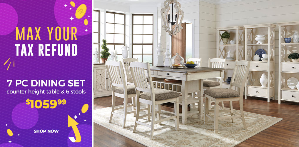 Max Your Tax Refund Sale - 7 Pc Dining Set $1059