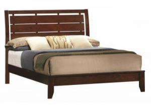 Image for Contemporary Dark Brown Twin Bed
