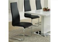 Image for Coaster Black Dining Room Side Chair
