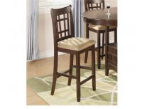 "Image for Lavon 24"" Cherry Counter Height Bar Stool"