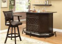 Image for Coaster Dark Cherry Bar Unit