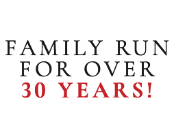 Family Run for Over 30 Years - Browse Now