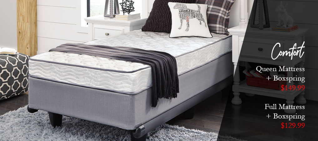 Queen Mattress + Full Mattress