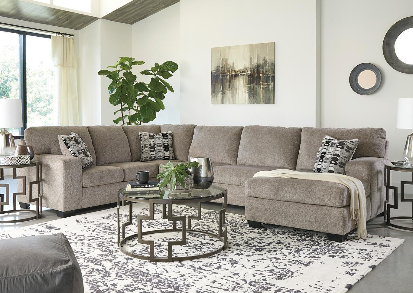 "Ballinasloe Platinum Sectional + FREE 50"" TV,Tax Return Sales Event 2021"