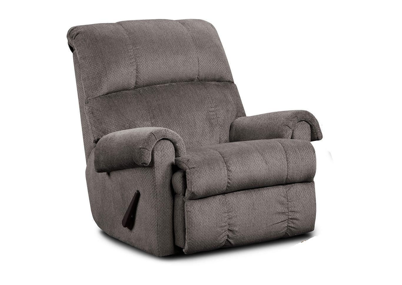 Rocker Recliner - Grey,Tax Return Sales Event 2021
