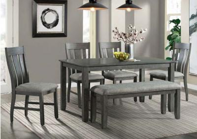 Image for Table & 4 Chairs  + FREE Bench
