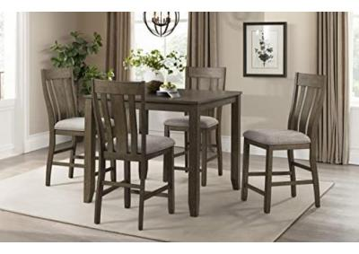 Image for Lane Table & 4 Stools