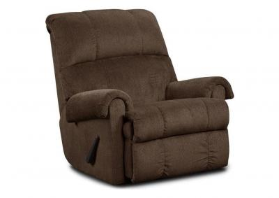 Image for Rocker Recliner - Chocolate